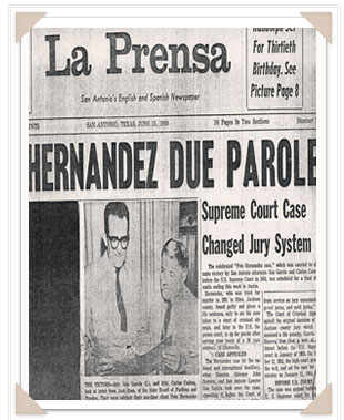 an analysis of the issues in the hernandez v texas murder case While brown vboard of education is a widely known landmark supreme court case, few can trace its origins to the case of nine-year-old sylvia mendez in mendez vwestminster sylvia's case, which was decided in the federal courts in california, preceded brown by about eight years thurgood marshall represented sylvia mendez.